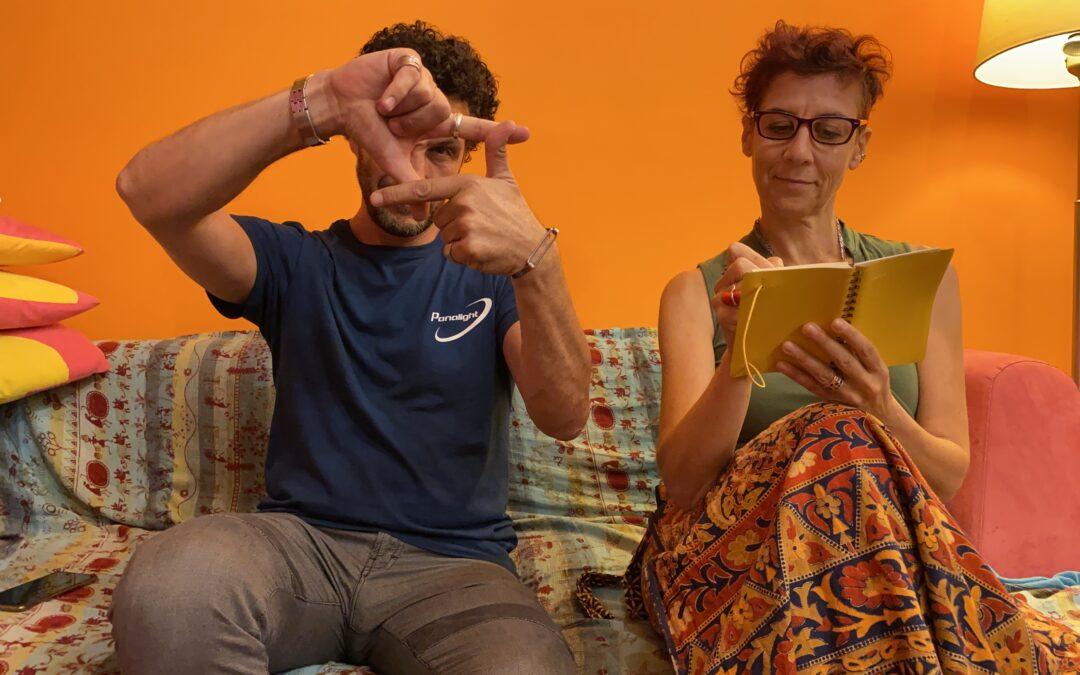 Scrittura collaborativa e immagini in movimento: Francesca Rosso e Federico Mazzi